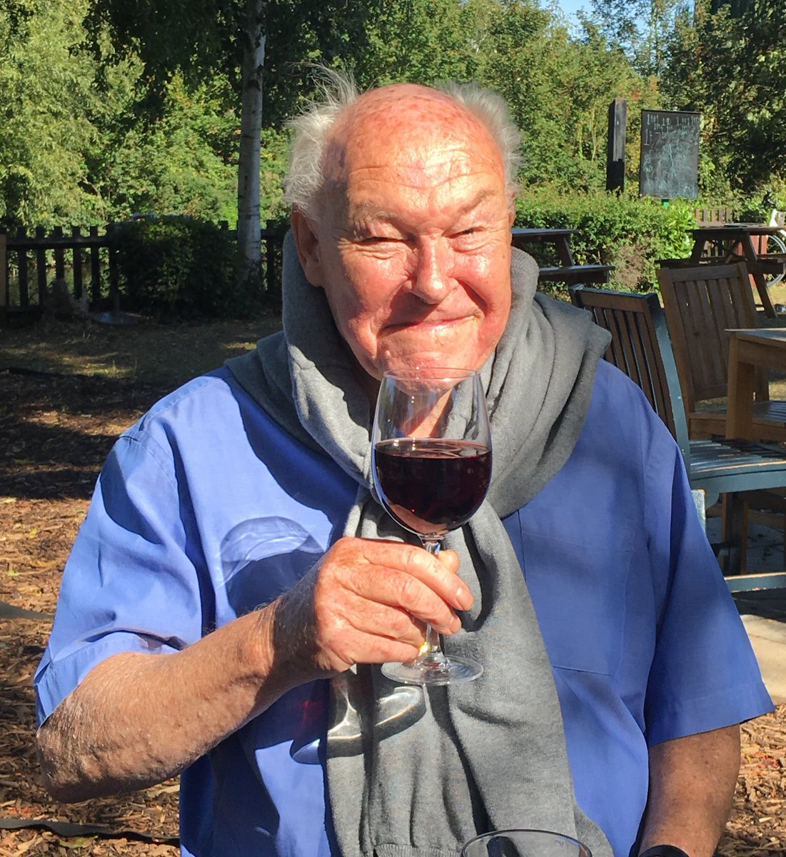 Cheers! Happy birthday to the great Timothy West, 86 today. He's the best.