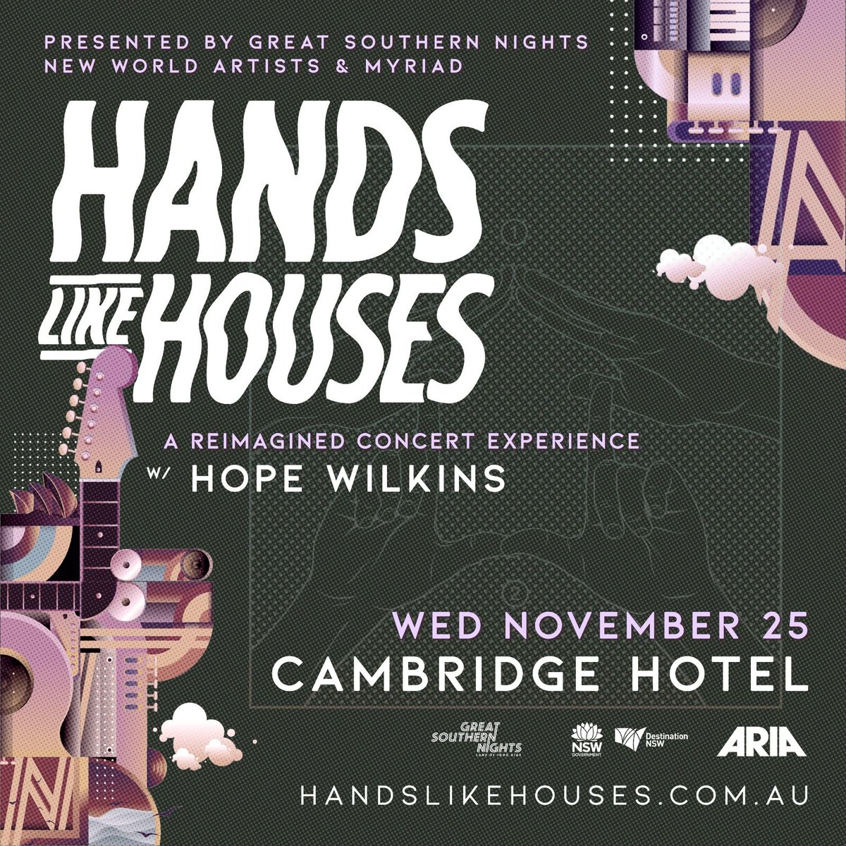 Tickets for @handslikehouses' Great Southern Nights acoustic show are on sale now!  https://t.co/GZ7GURD3CK https://t.co/rneTNETcUS