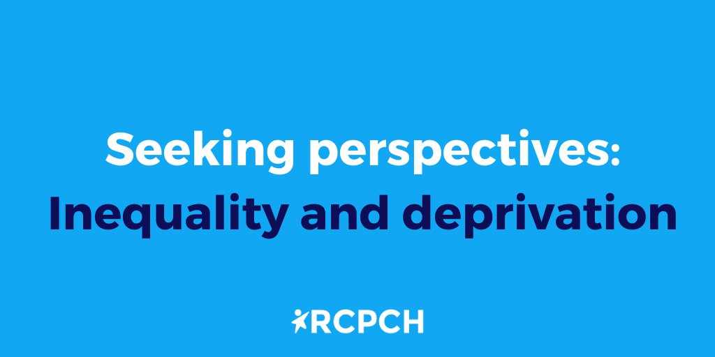 📢 Members: have you seen evidence among patients of increased deprivation, especially within the last year? Drop us a DM, we'd love to talk to you. https://t.co/k9kcRo3bwh