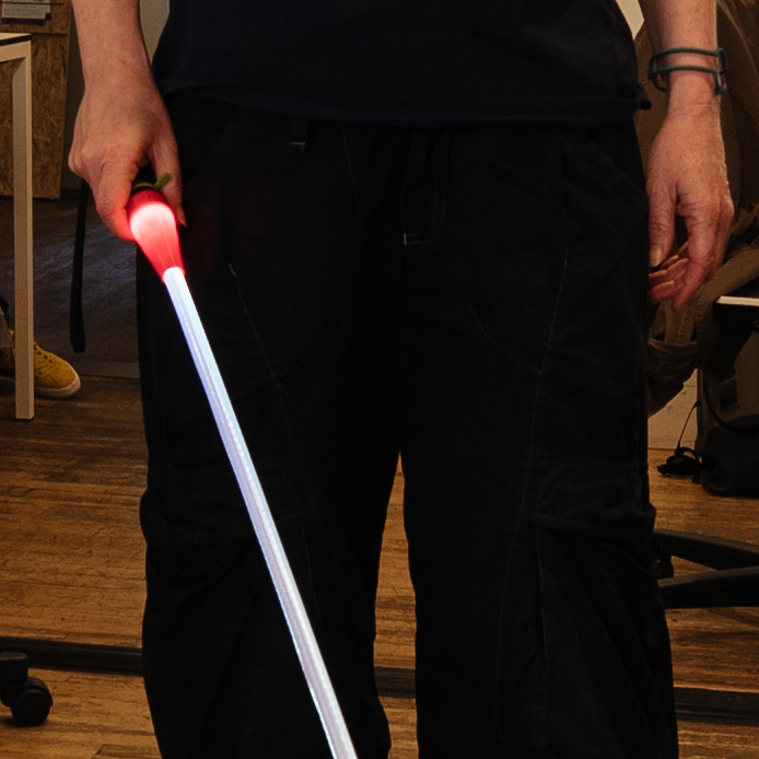 test Twitter Media - brilliant #DIY product by Debby: a #glowinthedark #cane for #blind and visually impaired people https://t.co/GzJPY7u5Ul https://t.co/JS4rdXJjn2