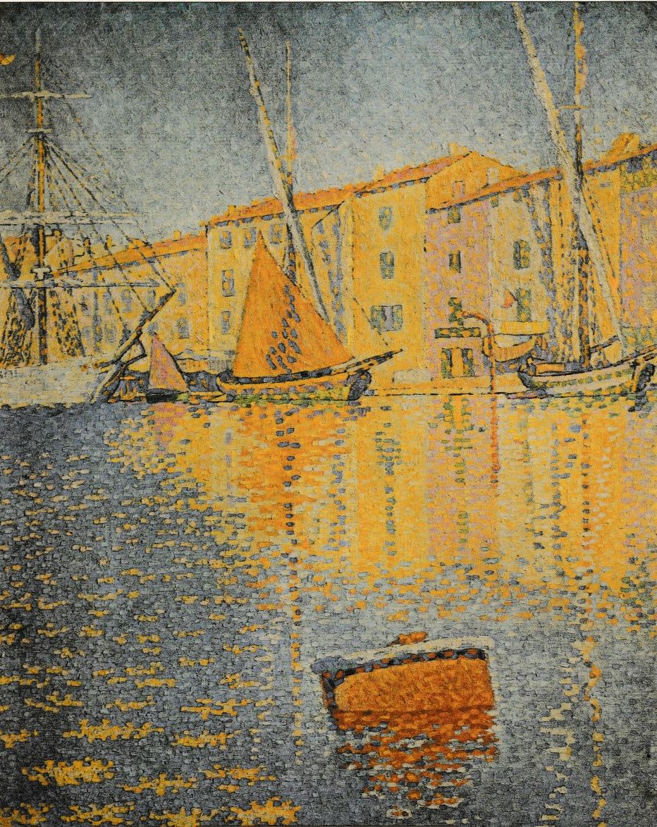 #artoftheday Paul Signac (1863-1935) - France La bouée rouge - The red buoy - Die rote Boje - Saint Tropez - 1895 Pointilismus https://t.co/4Xf2tpEfuH