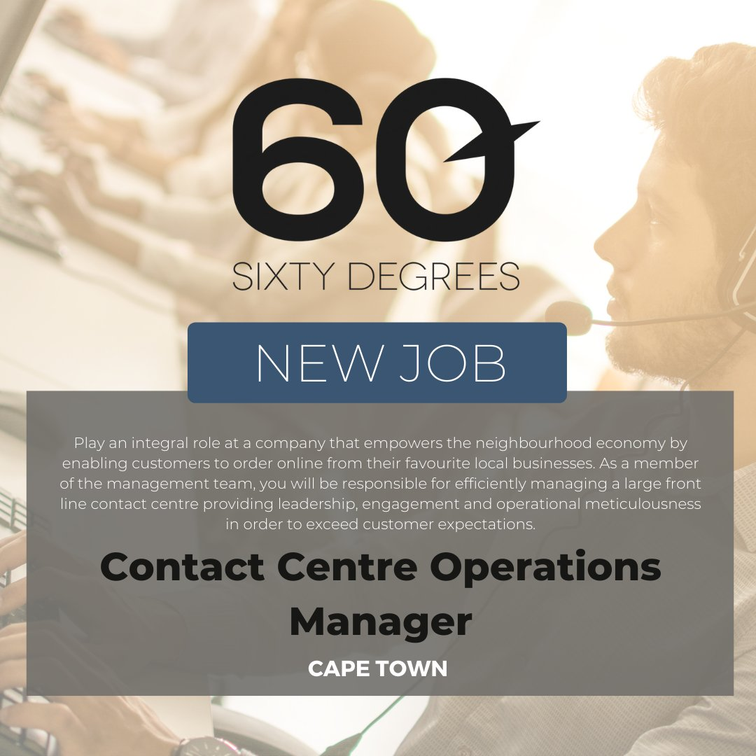 test Twitter Media - New #JobAlert - Contact Centre Operations Manager in Cape Town  For more information & to apply, please click on the link below  https://t.co/ca7DbZYUSn  #60Degrees #60DRecruiter #60Droles #contactcentre https://t.co/MUmMAtHxHk