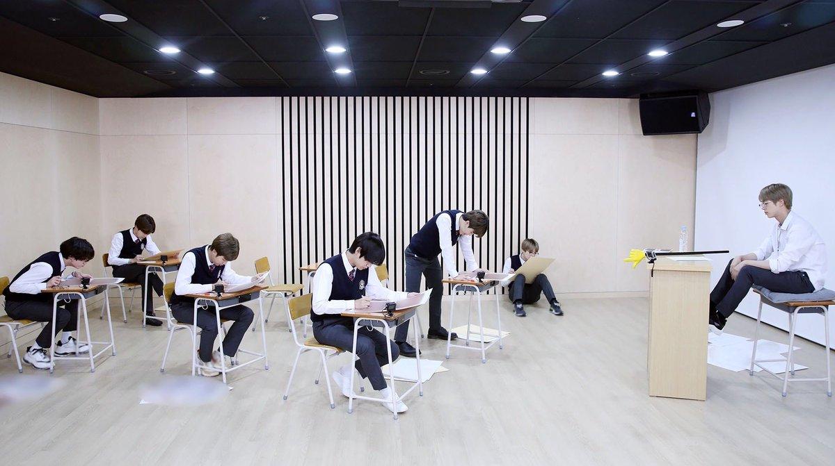 So😂💜 what's your sitting position in an exam?   #runbts #KimTaehyung #KIMSEOKJIN #KimNamjoon #MinYoongi #JHOPE #JIMIN #JUNGKOOK  #BTS https://t.co/WCr1HO63Xm
