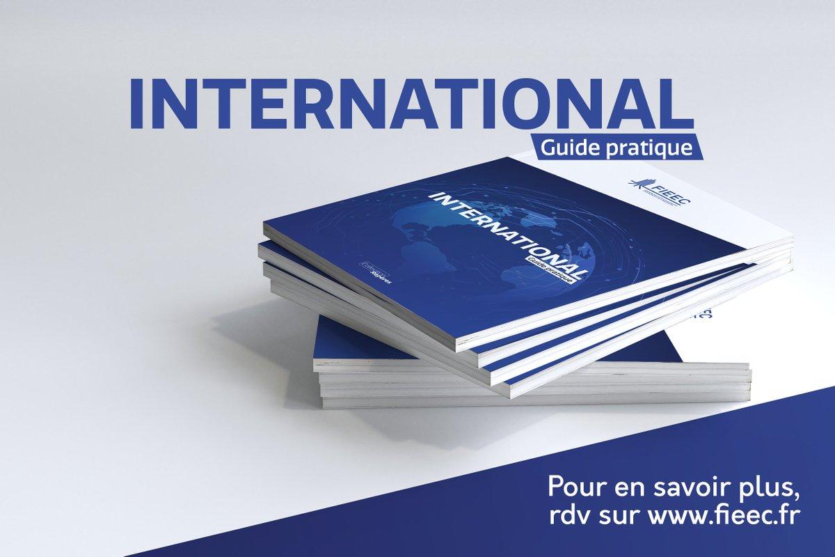 Le premier Guide #International publié par la  @FIEEC est disponible en ligne ! Faites le plein d'informations douanières et commerciales pour vous aider à conquérir de nouveaux marchés ! 📖  👇Retrouvez-le ici.
