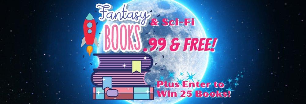 Fantasy & Sci-Fi Books: .99 & Free https://t.co/8hodksIuKM https://t.co/0zRtnJmYIm