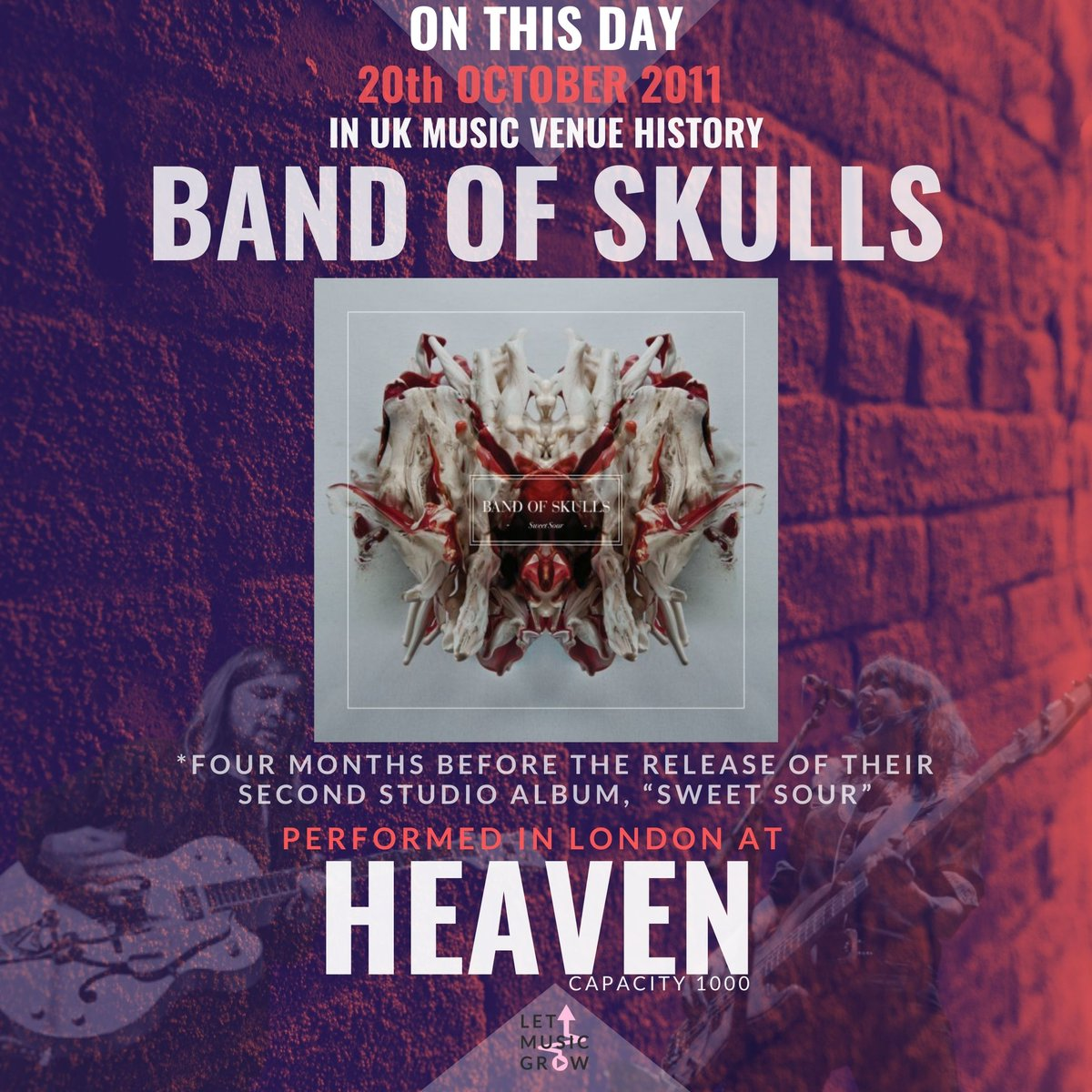 @bandofskulls @SoRecordings @bandofskullsBR #letmusicgrow #letthemusicplay #wemakeevents #saveourvenues #saveourstages #NIVA #MusicVenueTrust #fyp #onthisday #newmusic #follow #song #independentartist #like #indie #instagood #pop #studio #guitar #repost #indieartist #explore https://t.co/iMK9MfiVZR