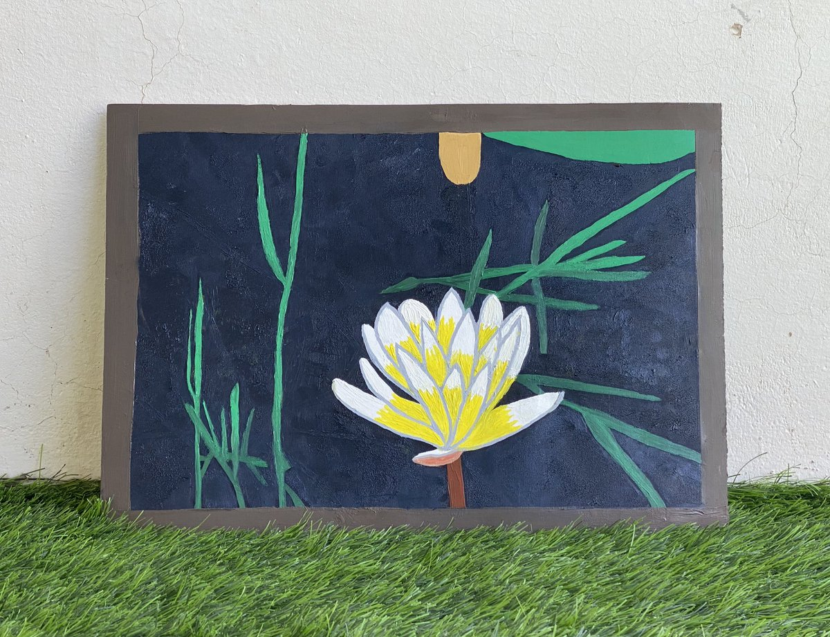 #art #paint #painting #draw #drawing #oilpainting #lotus #lotusflower 🎨 https://t.co/kjmMnK4hOc