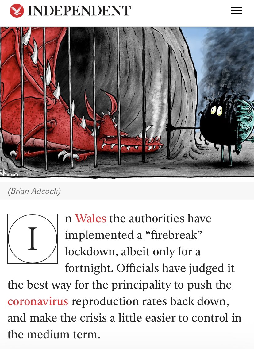 "Since @Independent seems confused:   WALES IS NOT A PRINCIPALITY  ""The Principality of Wales"" existed from 1216 till 1536, and (at its height) comprised of a mere ⅔ of modern Wales.  It's 2020.  Wales is a country.  I wrote this in 2014. Still stands 👇 https://t.co/cau8Vj1dSw https://t.co/kFm2b4AQoG"
