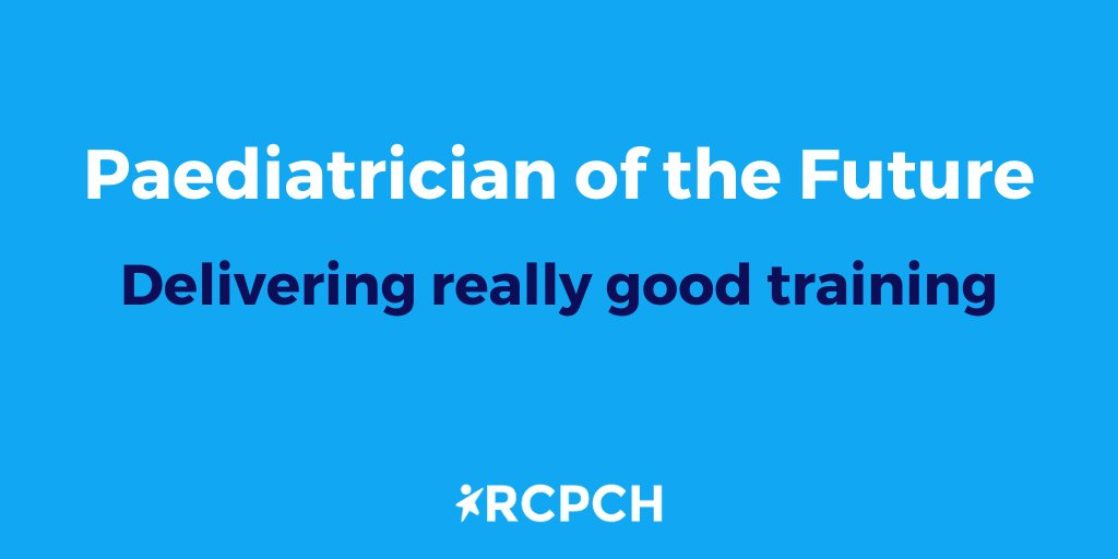 We've published our vision for paediatric training, a more holistic approach to child health with greater flexibility and an encouragement for trainees to find learning opportunities at every stage - https://t.co/g1XvP6H7bR https://t.co/iBkVPqb6Yi