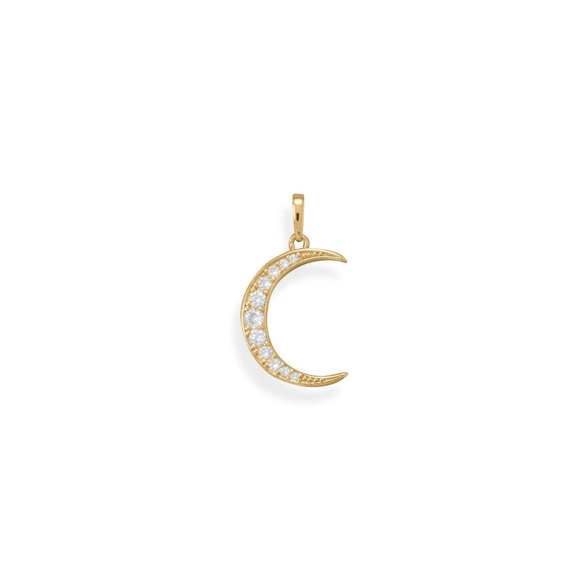 Excited to share the latest addition to my #etsy shop: Pendant / 14 Karat Gold Plated CZ Crescent Moon Pendant / Jewelry For Her / Unique Jewelry / Quality Pendant / Celestial Jewelry https://t.co/fBZp88rKiH #gold #birthday #mothersday #jewelrymaking #summer #clear #gi https://t.co/14YeJAUrIr