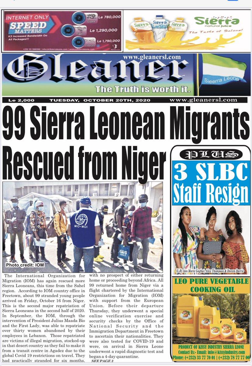 #SierraLeone @IOMSierraLeone https://t.co/LDFIHtwN2v
