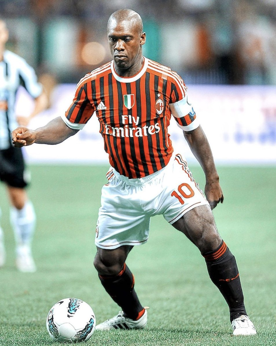 """Football Tweet ⚽ on Twitter: """"Every day is leg day for Clarence Seedorf.  💪… """""""