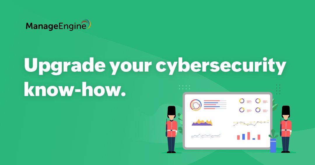 Migliora la tua conoscenza sulla sicurezza informatica sui #webinar proposti da @manageengine:  📌 Endpoint security 📌 PAM 📌 IEM 📌 SIEM 📌 Network Security   Registrati 👉  https://t.co/M7fCtf0f2j   #MEforCybersecurity #Cybersecurity #CybersecurityAwarenessMonth #NCSAM2020 https://t.co/dKQismR3Vm