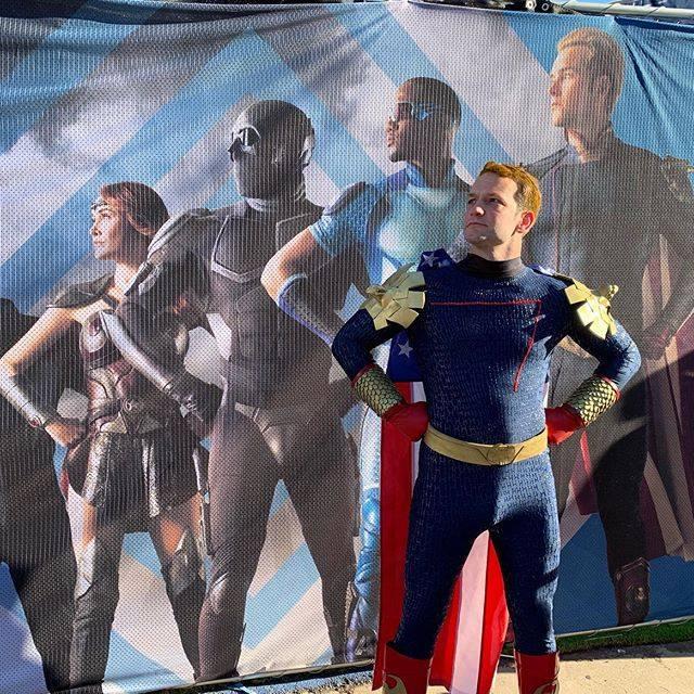 #homelander #theboy #homelandercosplay #Superman #HOmelander  #TheBoys  #TheBoysTV  #ChristopherLennertz #AntonyStarr #AyaCash #EricKripke #KarlUrban #TheBoys  #TheButcher #Homelander #Stormfront  https://t.co/HgTZ16e0nl https://t.co/Jv8fkKtBFs