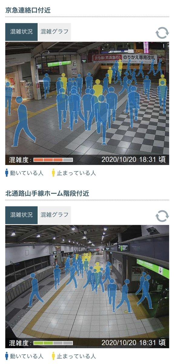 ライブ 品川 カメラ 駅