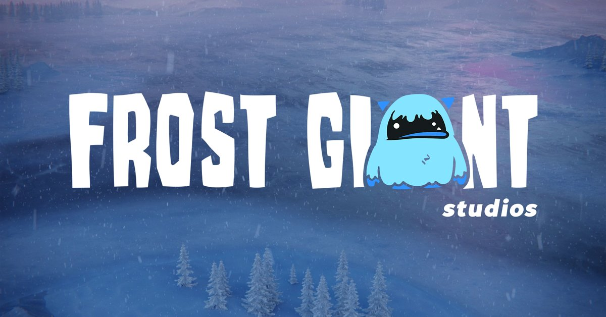 Real-Time Strategy Returns! We're launching a new game studio to build the next great RTS! Join us on our journey at https://t.co/qtPYF1CahM! #FrostGiant https://t.co/NRFfu64qCU