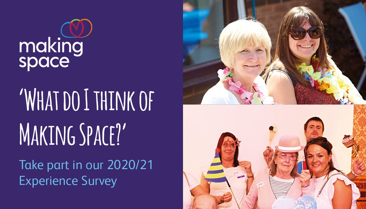 If you have used any of our services in the last 12 months? If so, take part in our 2020/21 #ExperienceSurvey.  You can complete the online survey here https://t.co/zABxq23ggf https://t.co/MwPy1cYxxZ