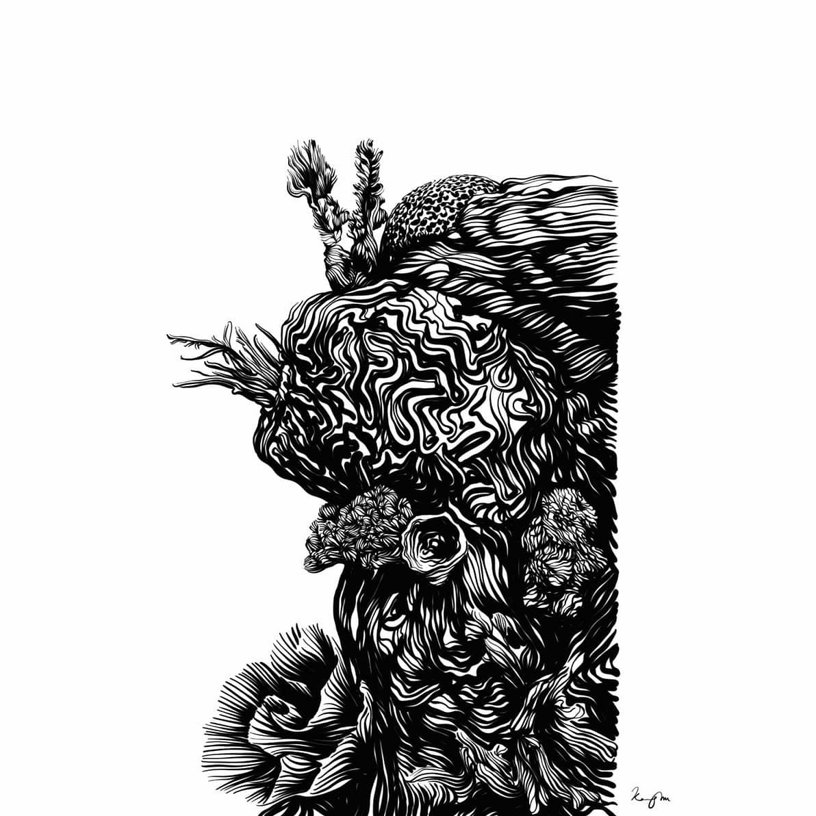 Day 20  第二十天 #coral #珊瑚 #inktober #inktober2020  #black #黑 #blackandwhite #黑白 #ink #inkdrawing  #fish #魚 #undersea #海底 #underwater #水中的 #stingray #魟魚 https://t.co/TioreaBaSK