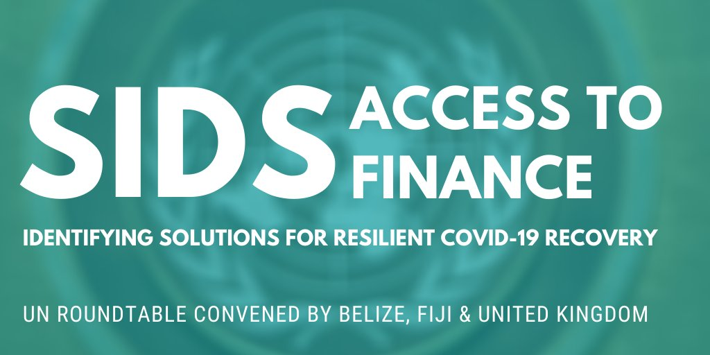 test Twitter Media - 📌This week at 🇺🇳UN: The 🇬🇧UK, 🇫🇯Fiji 🇧🇿Belize host an important conversation about Small Island Developing States and access to finance  This roundtable brings together #SIDS, donor countries, international organisations to discuss improving access to concessional finance https://t.co/azYZ2Cwk3N