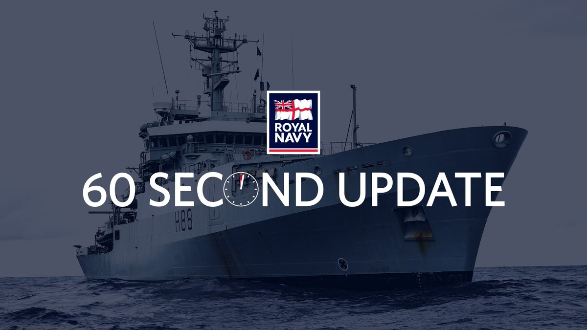 📺 And now for your #RoyalNavy headlines. This week's update comes from @HMSEnterprise following her 15-month global deployment. Also, news from @42_commando and @HMSQNLZ, plus those recognised in the Queen's Birthday Honours List 2020. 👉 Read more: royalnavy.mod.uk/60secondupdate