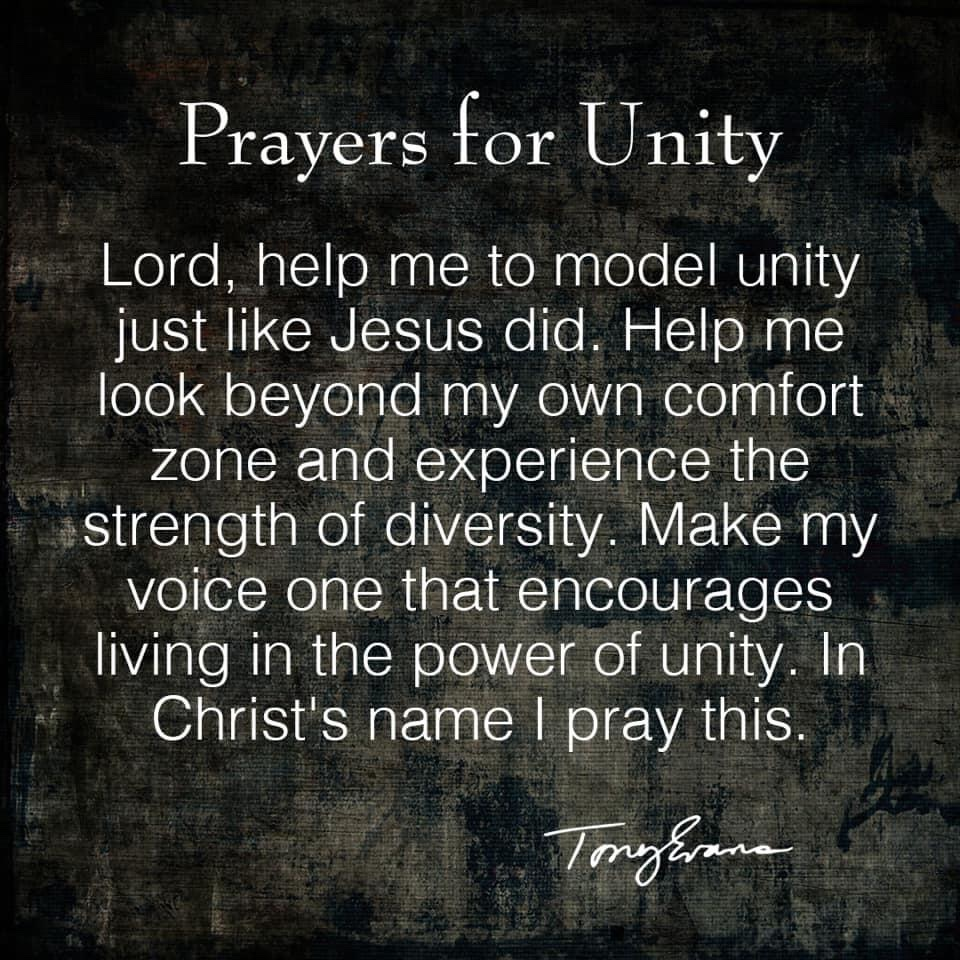 Pray with me. #unity https://t.co/FhykYMW3Ty