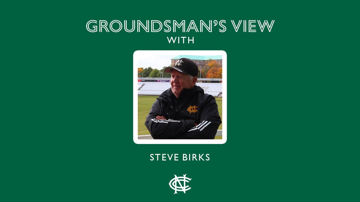So much more than just a man and his roller. @birks1968 and team, Trent Bridge salutes you for your tireless work this summer WATCH | The Head Groundsman on a strange 2020 season ▶️ bit.ly/2Tdl3kB