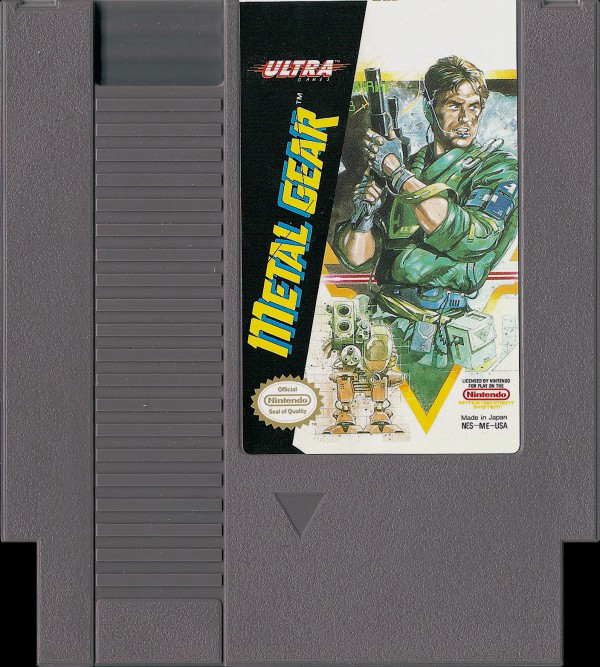 Metal Gear cartridge for the Nintendo Entertainment System - the most totally awesome '80s packed into 8-Bits  #MetalGear #Nintendo #Cartridge #NintendoCartridge #NESCartridge #Gamer #Gaming #RetroGaming #1980s https://t.co/0q9nMnwDBU