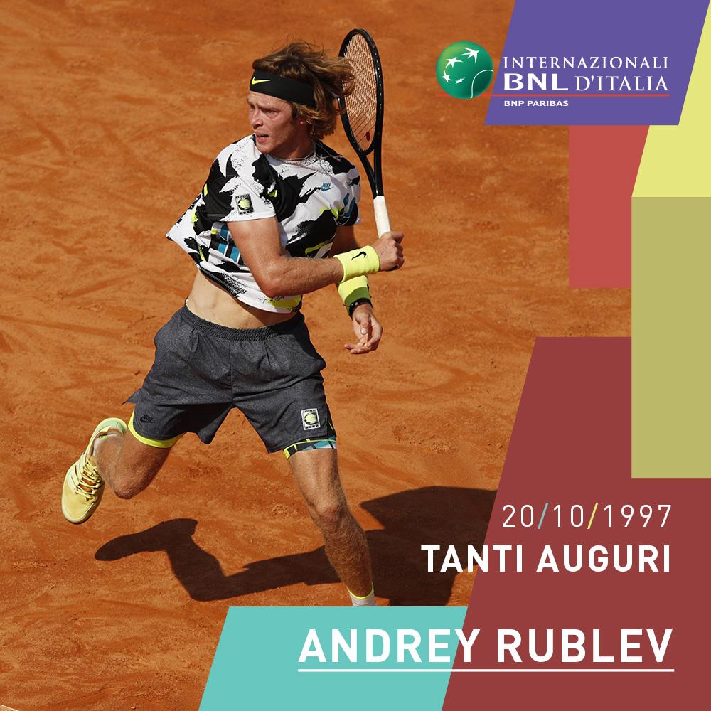 4️⃣ Trofei nel 2020  8️⃣ Best ranking tra i top 10 Quale migliore regalo di compleanno per @AndreyRublev97 ?   🎂 Tanti Auguri! 🎂  #tennis #IBI20 #happybirthday https://t.co/3iQ1xFJiZa