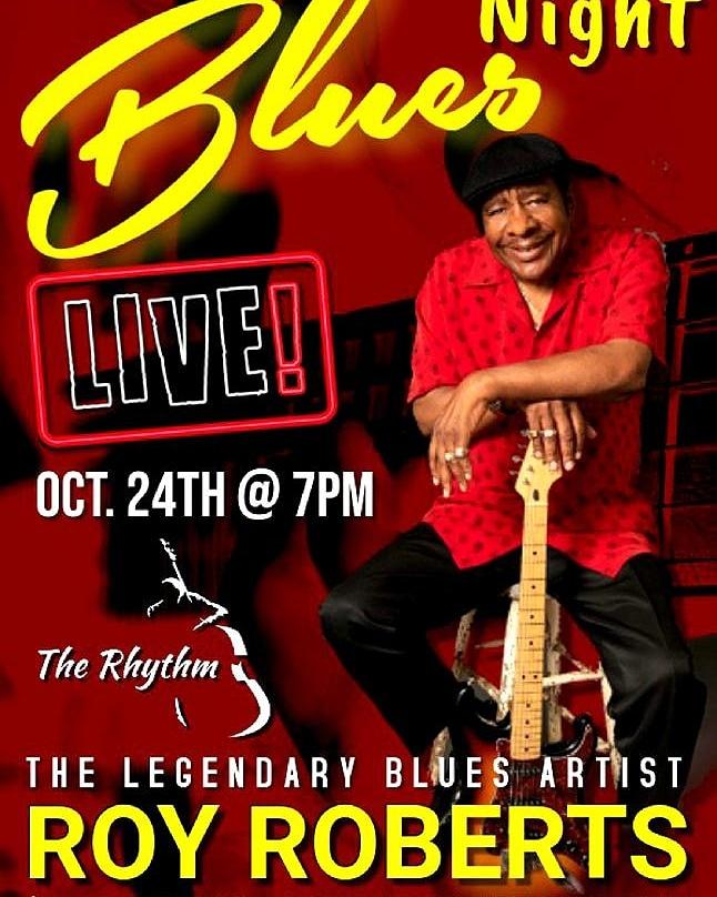 Join Living Legend: Roy Roberts #Saturday October 24th @ 7pm @ The Rhythm Grill & Lounge #WinstonSalemNC #RoyRoberts #SouthernCharm #TheTriadScene #LiveMusic https://t.co/mCWlIMyNyz