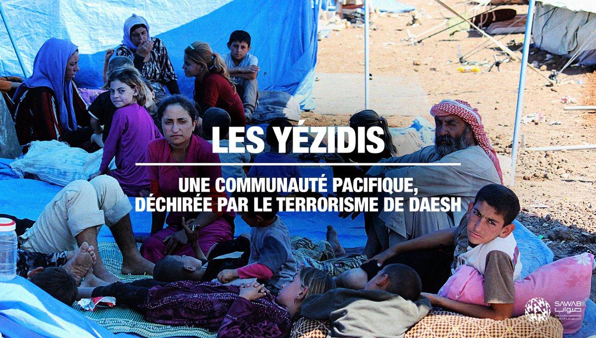 55 femmes yézidies, accompagnées de leurs 180 enfants, ont été libérées du camp dAl Hol depuis 2019 avec laide des autorités. Elles ont été transférés à la Maison Yézidie, un refuge pour cette minorité qui a énormément souffert aux mains de #DisciplesBernés #DansSonHistoire