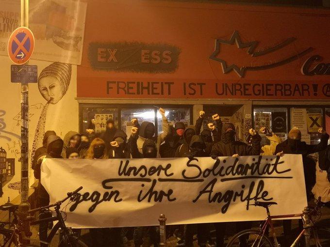 Solidaritätsbekundung aus Frankfurt am Main an die Betroffenen des rechten Anschlag in Henstedt-Ulzburg