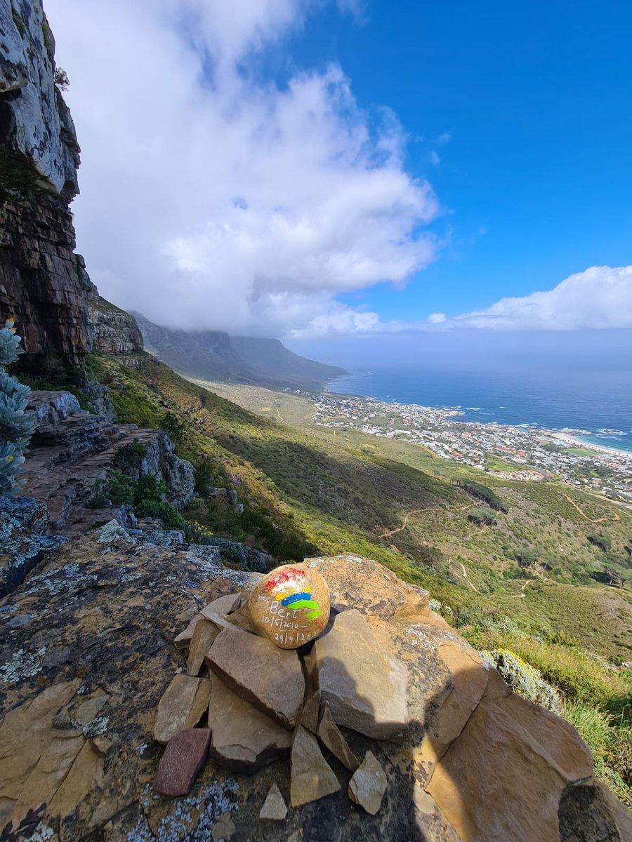 @BearBertthe Bert's stone on Table mountain Cape Town https://t.co/B9wbpv5l3D