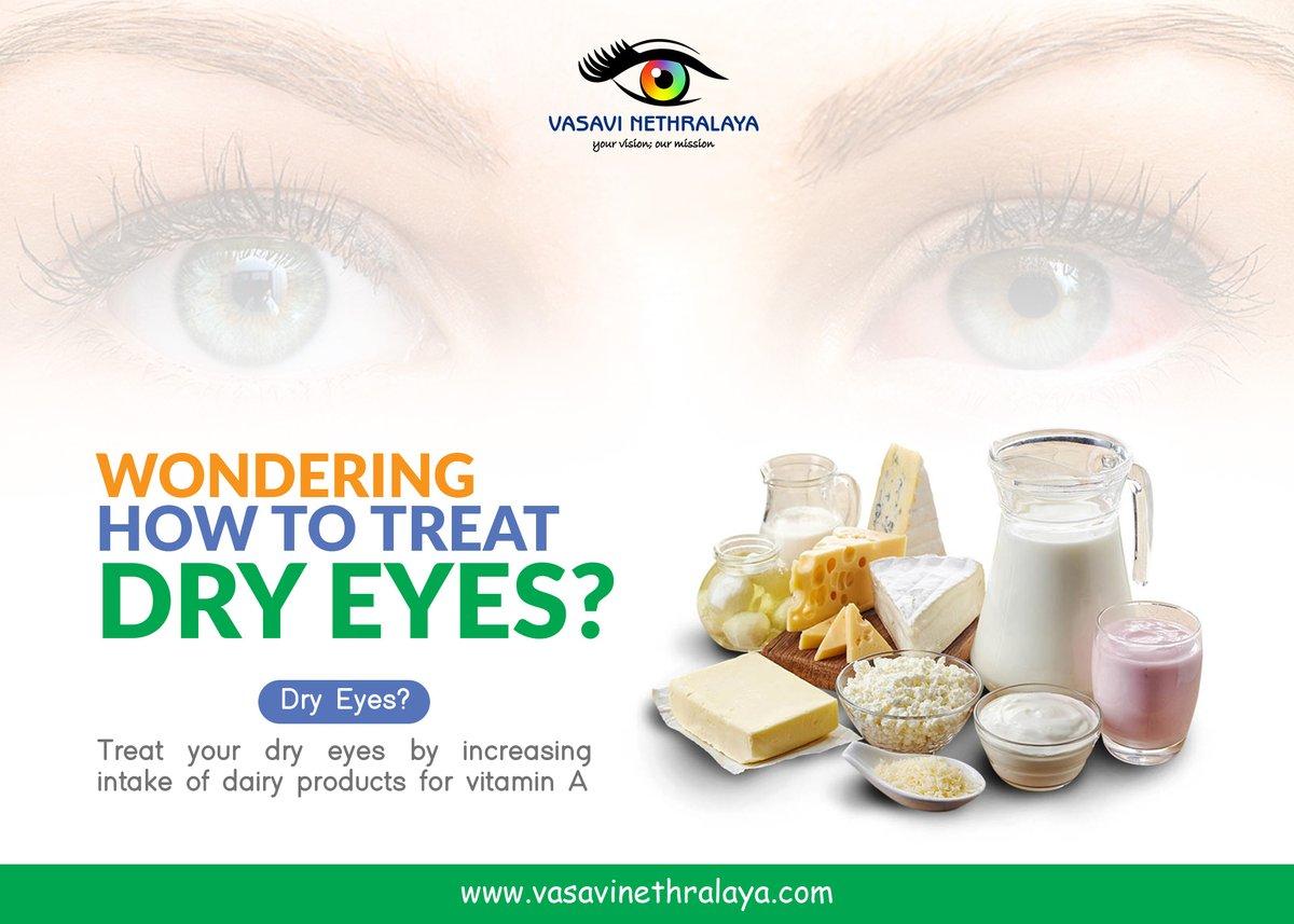 Dry eyes? Treat your dry eyes by increasing intake of dairy products for vitamin A.  Visit us: https://t.co/OjwyuKmrg1  #eyecare #eyes #vision #optometrist #optometry #eyewear #eyehealth #eyedoctor #glasses #eye #sunglasses #optician #ophthalmology #optical #eyeglasses https://t.co/WwyxAidwKa
