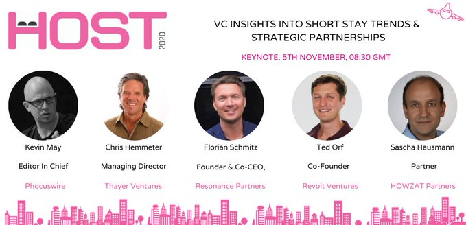 HOST 2020 is designed to help rentalpreneurs and property managers with ideas on how to adapt, stay competitive and survive in a post Covid-19 world.   Use this special link for a special @phocuswire rate on registration: https://t.co/7E52tlKT81 https://t.co/TP5zsE17o0