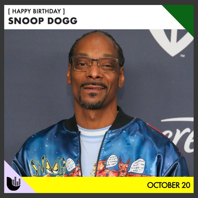 Join us in wishing Snoop Dogg a happy birthday!