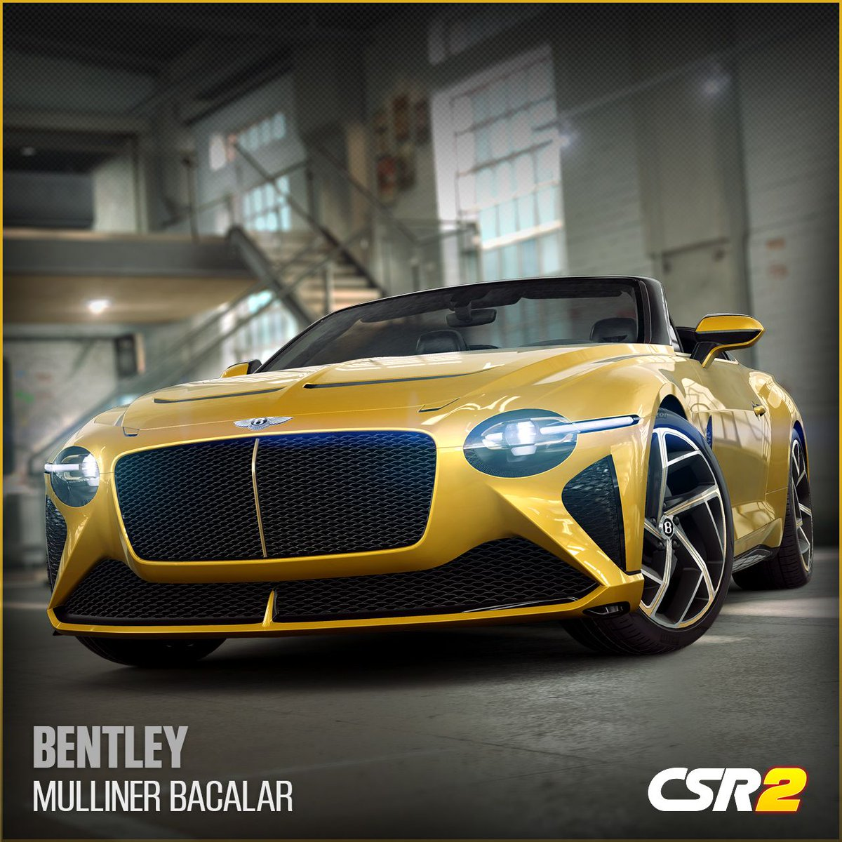 The rarest two-door Bentley of the modern era comes to #CSR2. Dynamically-sculpted, the #Bentley #Mulliner #Bacalar is available now, so get down to the track and be the most exclusive racer on the streets. https://t.co/qF2q3Mxt4n @BentleyMotors https://t.co/Um40gV2MCa