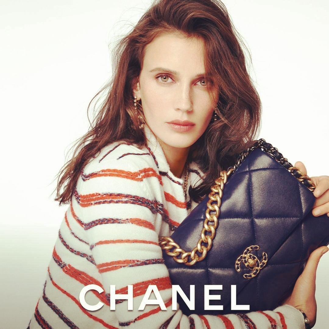 Loving @CHANEL ❤ The CHANEL 19 Bag- Actress Marine Vacth stars in the lstest CHANEL campaign imagined by Sofia Coppola. See the CHANEL 19 bag campaign photograpbed by Steven Meisel @CHANEL and . ❤💕💙💜  #HandbagCHANEL19 #CHANEL #MarineVacth #SofiaCoppola