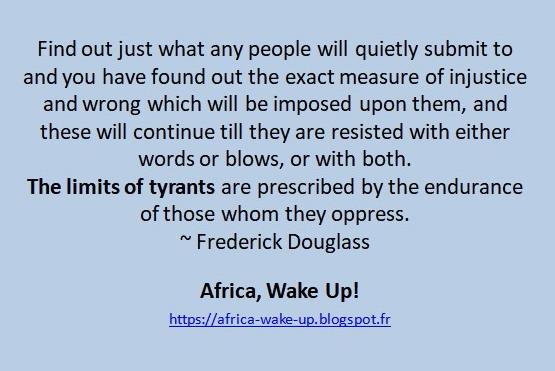 The limits of tyrants ... ~ Frederick Douglass  #Nigeria #Kenya #Ghana #Zimbabwe #Uganda #Zambia #Botswana #Namibia #SierraLeone #Liberia #SouthAfrica #Somalia #Malawi #Rwanda #Sudan #SouthSudan #Tanzania #Swaziland #Lesotho #Gambia #Burundi #Ethiopia #Eritrea https://t.co/QdN2PCfec2