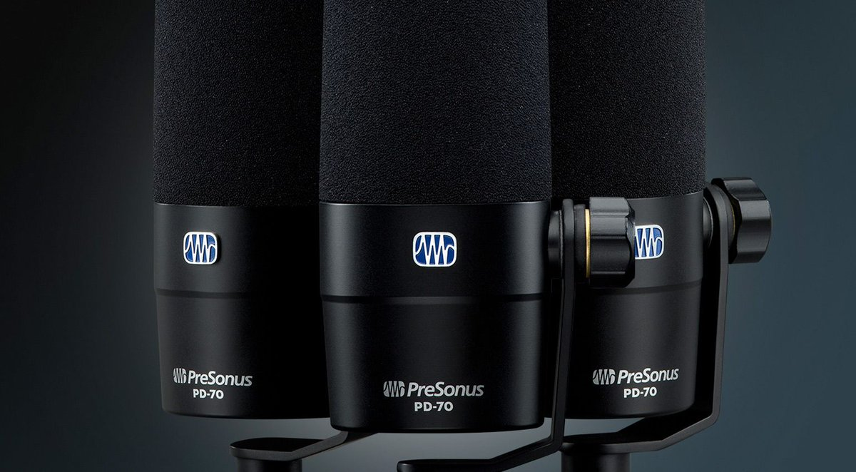 PreSonus PD-70: Ein günstiges Mikro für Broadcast, Podcast, Recording | https://t.co/jPi9yW60To https://t.co/yMgFvrrfpw  #studioflow #studiolife #mixing #instrumentals #musicproduction #audioengineer #producerlife #beats #studiosession #audio #makingmusic #mixandmaster #studios https://t.co/UGhCXqHcae