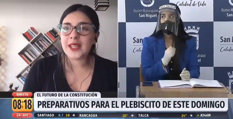#ChileElige | Conversamos sobre el plebiscito de este 25 de octubre con la diputada Karol Cariola #24AM   📡 Sigue la señal en vivo #24Play ➡ https://t.co/mi3yDUstrf        🔺 Señal de YouTube en vivo ➡ https://t.co/nVZEDgaie7 https://t.co/hOt6vpgJZK