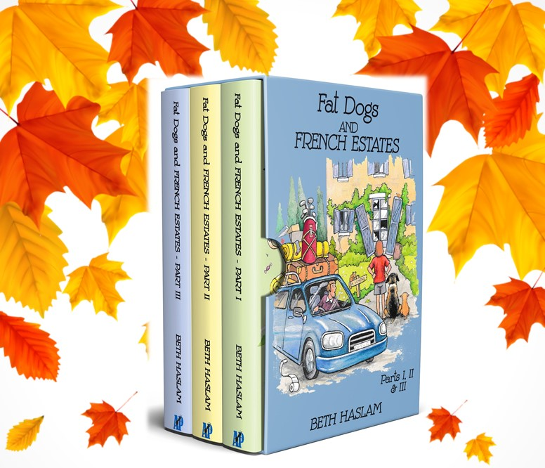 Why not celebrate the season of mists and mellow fruitfulness by joining my Fat Dogs and me on our adventures in France? There's never a dull moment! https://t.co/lAHdWWsAcv #book #books #France #adventure #Travel https://t.co/Wq0AMsJA6Q