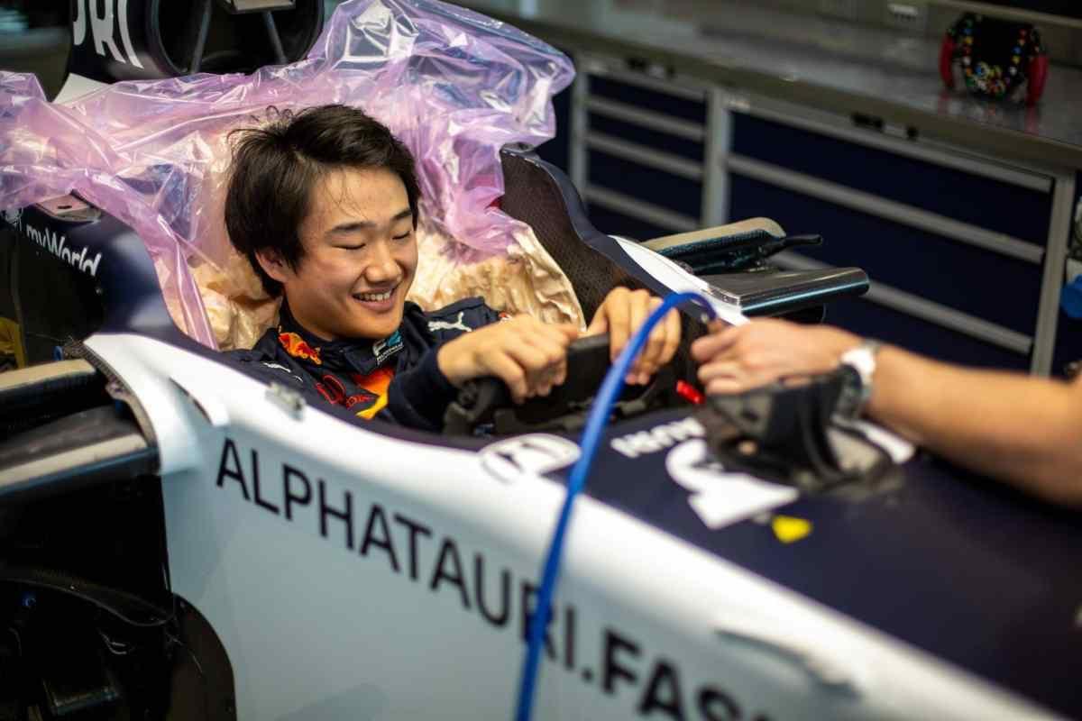 🔥TSUNODA EN #F1 SI...  Helmut Marko a confirmé l'arrivée de Tsunoda en 2021  🗣«Il devrait piloter pour Alpha Tauri en 2021. Tout ce qu'il doit faire c'est obtenir les points nécessaires pour la super licence»  Gasly sur le départ ? Kvyat bientôt remplacé ? Un mytho de plus ? https://t.co/LhUJrk7Pmp