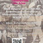 Image for the Tweet beginning: 📆Dilluns 26 d'octubre a les