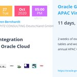 Image for the Tweet beginning: #Oracle #GroundbreakersTour - Have you