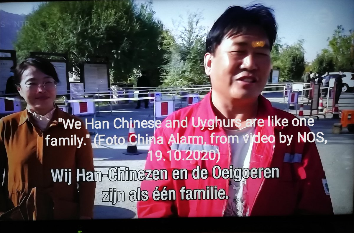 """#DutchDocumentary about #EastTurkestan  #SjourdDenDaas in #Xinjiang looking for #camps  Fotos (60+) of video #NOS, English text  Filming allowed but message is """"fu.. up!""""  Foto of new #factory built next to #camp  Interesting remarks by people filmed...   https://t.co/1KoMalR7Sj https://t.co/Hre7OheV7q"""