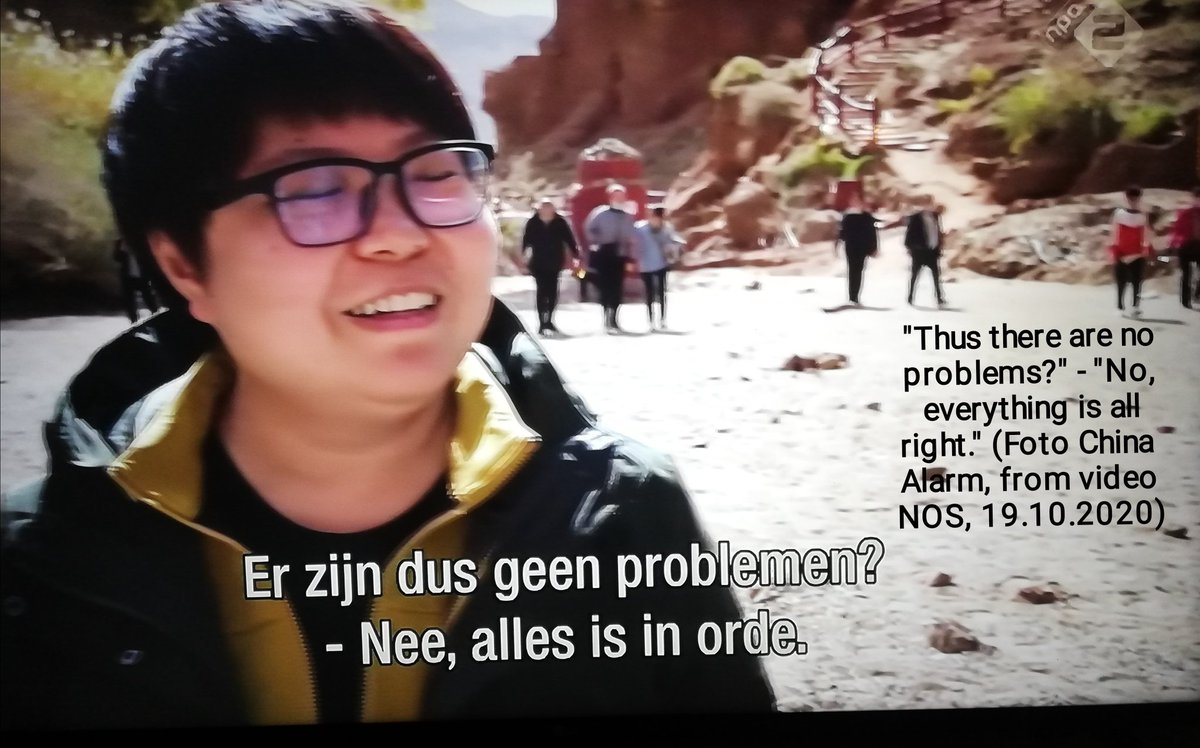 """#DutchDocumentary about #EastTurkestan  #SjourdDenDaas in #Xinjiang looking for #camps  Fotos (60+) of video #NOS, English text  Filming allowed but message is """"fu.. up!""""  Foto of new #factory built next to #camp  Interesting remarks by people filmed...   https://t.co/1KoMalR7Sj https://t.co/gDaWFJiAL5"""