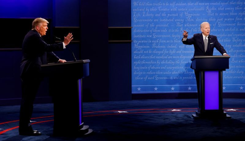 The final debate between President Donald Trump and Democratic rival Joe Biden will feature a mute button to allow each candidate to speak uninterrupted, organizers said on Monday, looking to avoid the disruptions that marred the first matchup yhoo.it/2HiOvDa