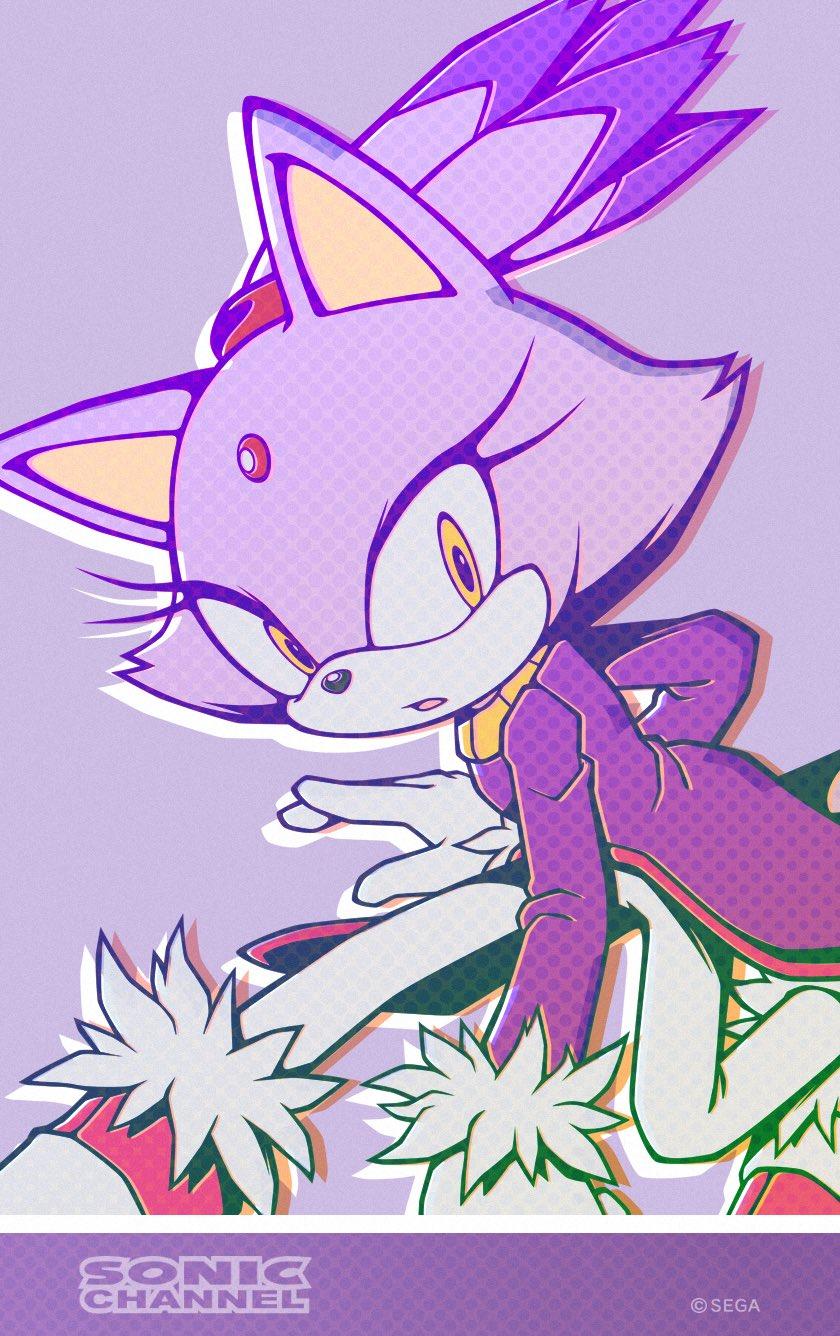 grafiki od Sonic Channel na miesiąc listopad smartfon