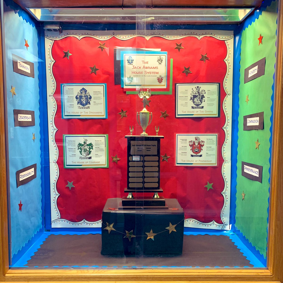 Last school year, #Amistad earned their spot on our house cup as our first-ever house champions. Who will win this year? All fourth graders and new students have been sorted; let the games begin! #thisishufsd https://t.co/ST3IlsZRTa
