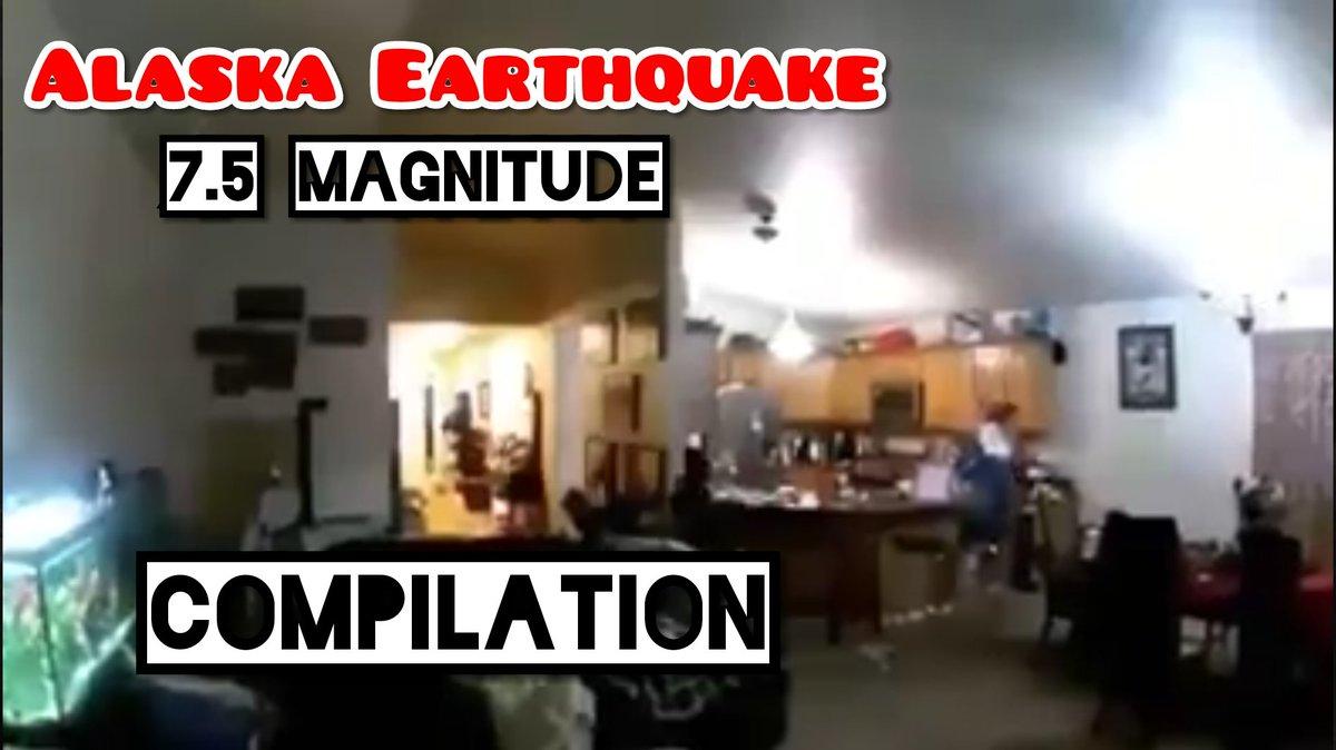 Alaska Earthquake compilation https://t.co/6L2GOvlIPA  #AlaskaEarthquake #Alaska #earthquake #TsunamiWarning #Tsunami #USA #US #NewYork #California #Florida #Washington #earthquakes #Earth #uk #India #UAE #Australia #NewZealand #YouTube #CCTV #Texas #America https://t.co/j6snYcXIFt